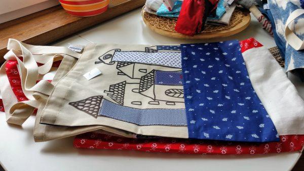 nákupné tašky plátené