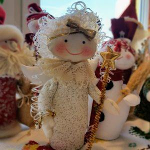 vianočná dekorácia anjel