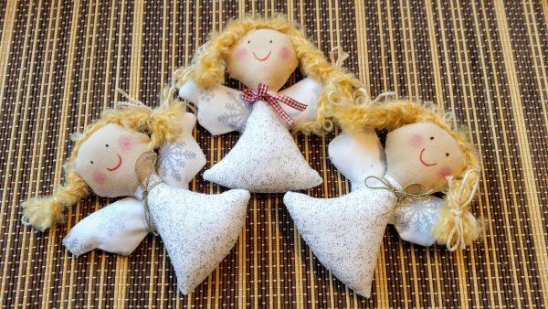 vianočné anjele