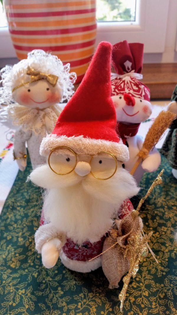 škriatok vianočná dekorácia