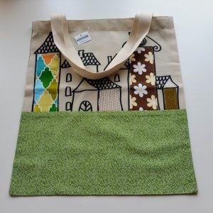 plátená taška na nákup