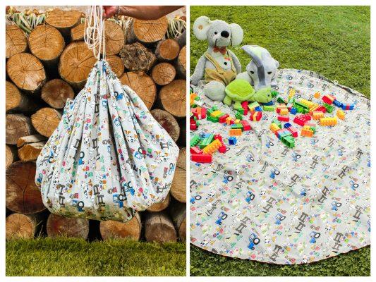Vak na hračky - hracia deka
