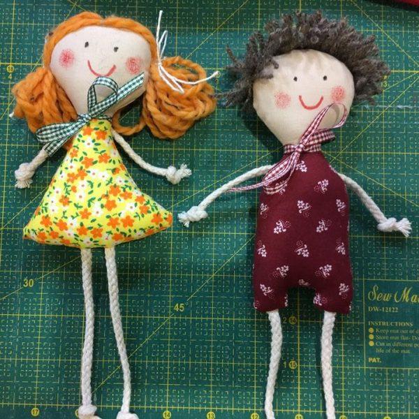 látková bábika