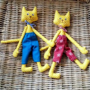 šitá hračka - mačička