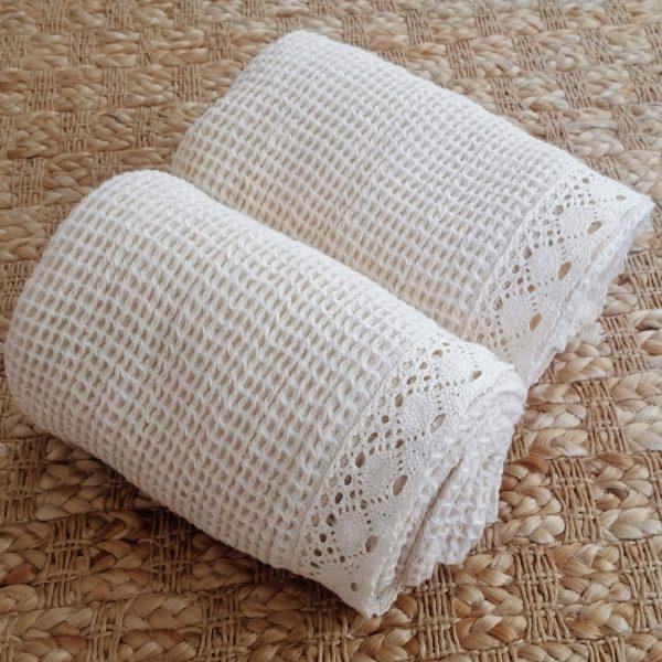čipkovaný uterák